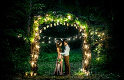 Свадьба за наш счет в стиле «Forest love»